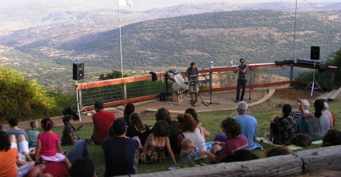 Special experience before sunset Mitzpe Kineret amirim