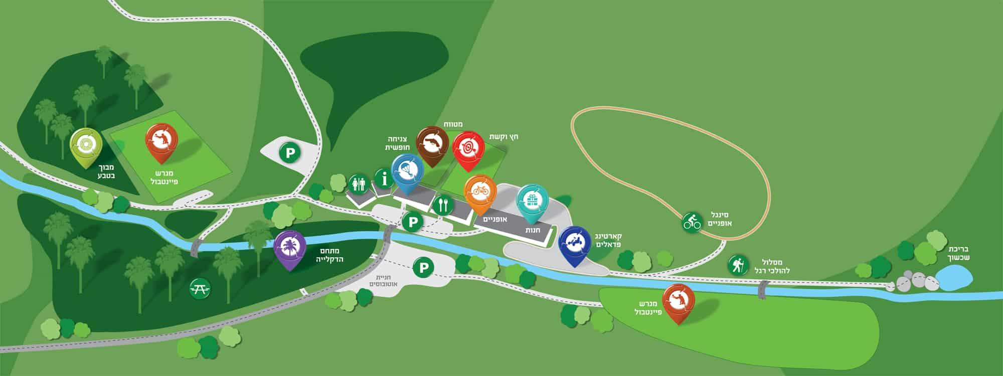 AyeletHaShahar map